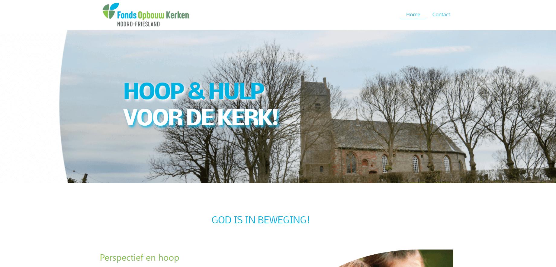 Fonds Opbouw Kerken Noord-Friesland - Doeltreffend Online