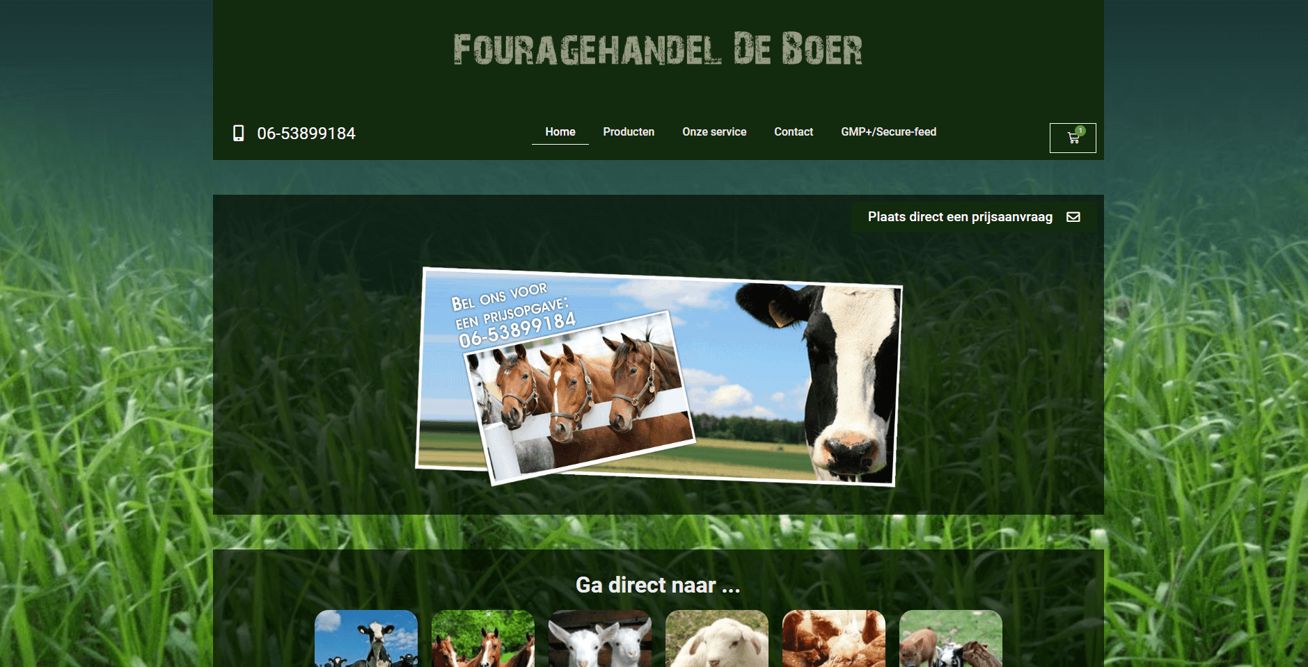 Fouragehandel De Boer - Doeltreffend Online