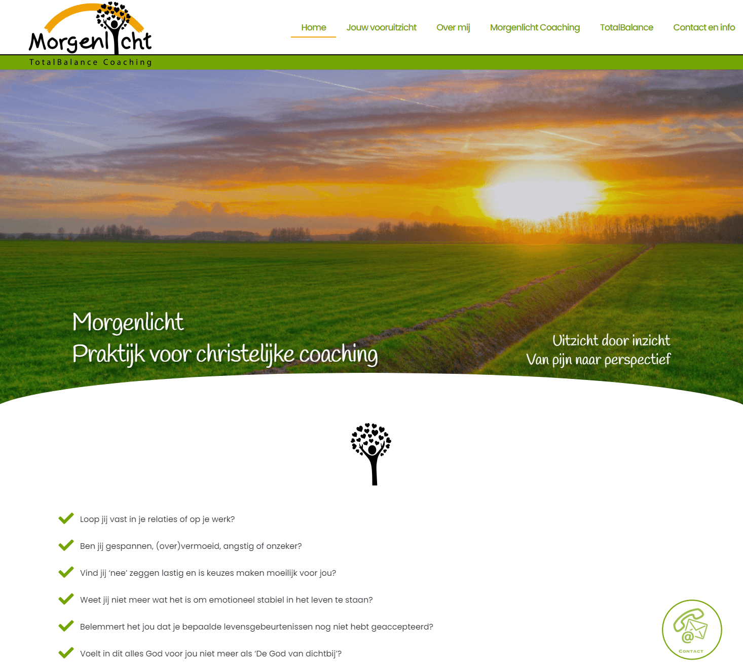 Morgenlicht Coaching home door Doeltreffend Online