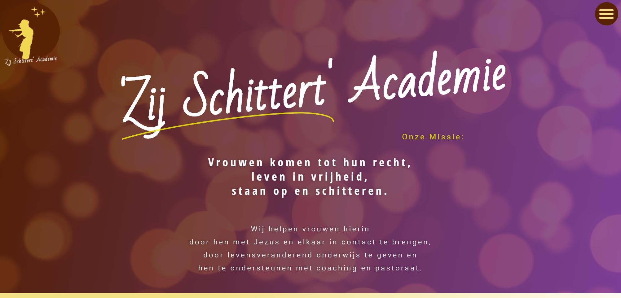Zij Schittert Academie door Doeltreffend Online